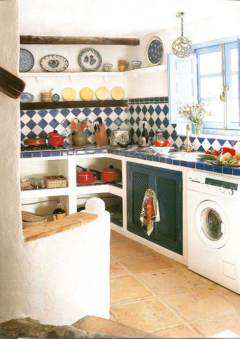 Campo chic projects and interior design gaucin andalucia spain kitchens Kitchen design for village